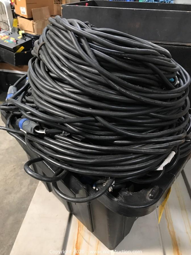 Online Auction of Surplus Equipment from Event Production Company