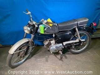 1966 Vintage Suzuki 50 Motorcycle