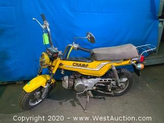 Vintage 1977 Yamaha Champ Motorcycle