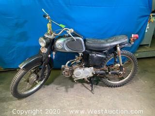 1960's Vintage Honda 50 Motorcycle