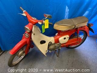 Vintage Honda 50 Motorcycle