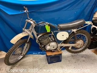 Vintage 1968 Greeves 58D 360cc Dirt Bike