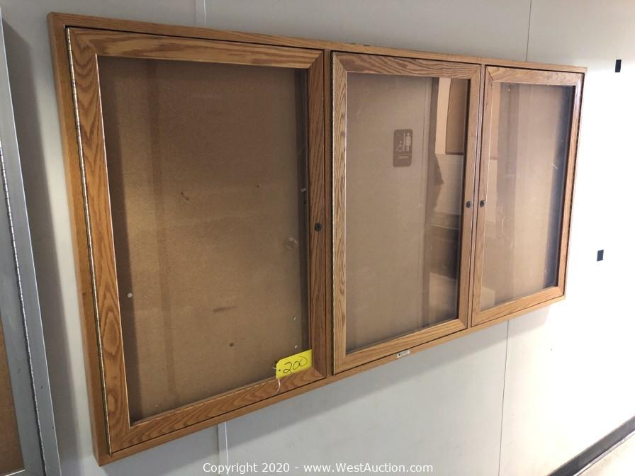 Online Auction of Pallet Racking, Equipment, and Office Furniture in Merced, CA