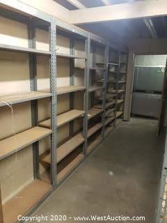 (10)  Shelving Units