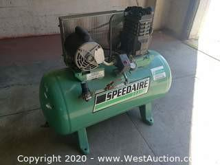 Speedaire 30 Gallon Air Compressor