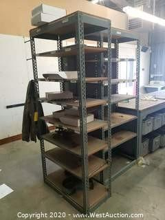 7' Metal Shelf Racks