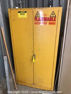Justrite Flammable Liquid Safety Cabinet