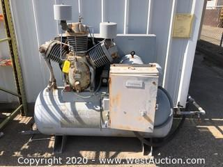 Ingersoll Rand 3000E25 Air Compressor with 3-Head Pump