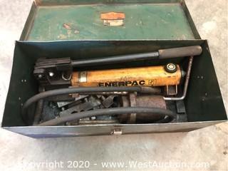 Enerpac P392 Two Speed Lightweight Hydraulic Hand Pump