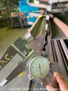 """(1)  Press Brake Tooling 12' x 1.950"""""""