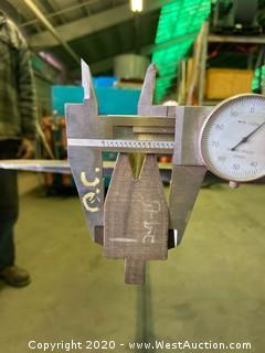 """(1)  Press Brake Tooling 74.5"""" x 1.5"""""""