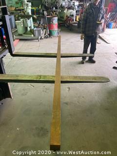 """(1)  Press Brake Tooling 8'x2"""""""