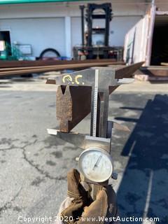 """(1)  Press Brake Tooling 12' 7"""" x .915"""