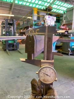 """(1)  Press Brake Tooling 12' 6"""" x .970"""