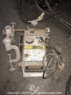 Koike IK-12 Beetle Portable Oxyfuel Cutter Machine