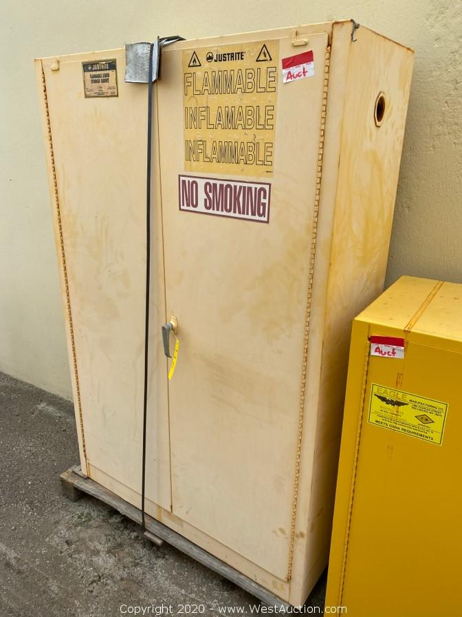 Generators, Flame Cabinets, and Office Equipment