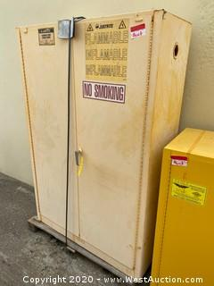 Justrite 45 Gallon Flammable Liquid Storage Cabinet