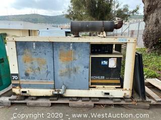 Kohler 70 Fast Response II Generator