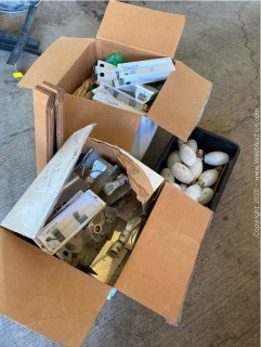 (3) Boxes of FC Floodlights and Assorted Bulbs