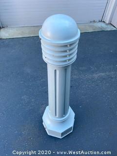 (6) Bollard Lights
