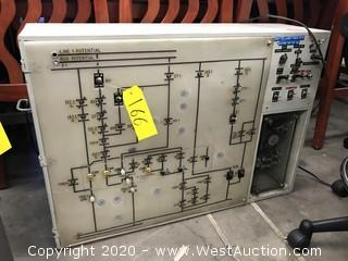 Electrical Control Switch Board