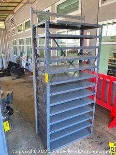 Aluminum Shelving Rack