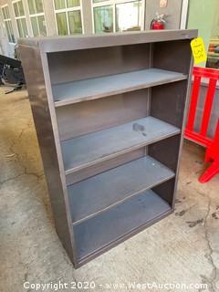 Metal Bookshelf Cabinet