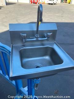 Aluminum Handwash Sink