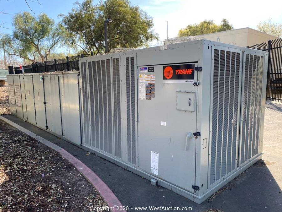 Online Auction of Trane Air Handler Unit in Livermore, CA
