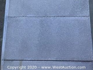 "Hanover 12"" x 24"" x 76mm Thick. Limestone Gray Color With #13 Sand-blast Finish."