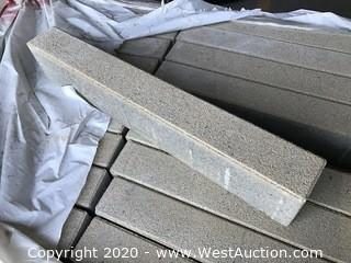 """Ackerstone 3"""" x 24"""" x 10mm Thick Paver. Stanford Sand Colorface Mix."""