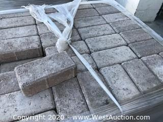 """Tumbled 4"""" x 8"""" x 60mm Thick Holland Paver Brown Color"""
