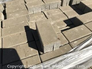 """4"""" x 8"""" Holland Paver 80mm Thick Dark Tan Color"""