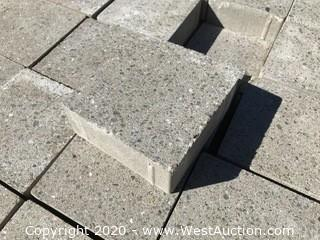 """Belgard Moduline 6"""" x 6"""" Grindface Gray 60 mm Thick"""