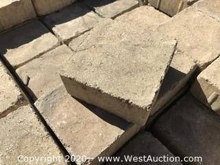 """Mcnear Old Country Cobble 6"""" x 6"""" and 60mm Thick. Golden Tan"""