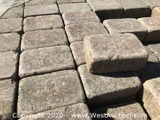 """Ackerstone Tumbled Cobble 6"""" x 9"""" x 80mm Thick Brown/ Red Color"""