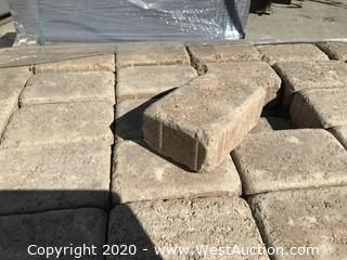 """Ackerstone Tumbled Cobble 6"""" x 9"""" x 80mm Thick Tan Color"""