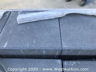 """Ackerstone 12"""" x 12"""" x 60mm Thick Slate Gray Face Mix Paver"""