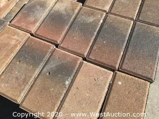 """Calstone Holland 4"""" x 8 """" x 60mm Thick Tan Red Charcoal"""