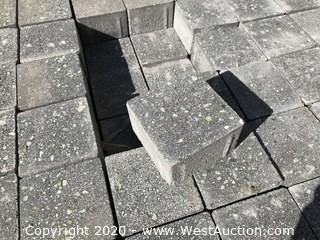 """Ackerstone Holland 2 Paver No Chamfer 4"""" x 4"""" x 60mm Thick Grind Face With Green Aggregate"""