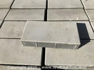 "Basalite 6"" x 12"" x 60mm Thick Face Mix Light Gray Pavers"