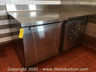 Continental SW60 2-Door Undercounter Refrigerator