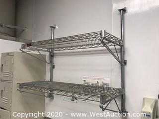 Eagle 2-Shelf Wall Wire Rack