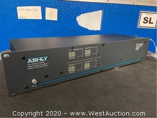 Ashly Protea System II Four Channel 24 Bit Digital Graphic Equalizer/System Processor
