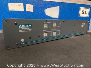 Ashly Protea System II Four Channel 24 Bit Digital Graphic Equalizer/system Processor