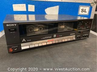 Sony TC-W3 Double Stereo Cassette Deck