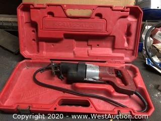 Milwaukee HD Sawzall with Case