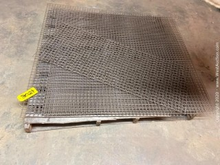 Pallet Of Wire Grates