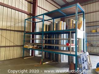 (2) Sections Of 15'x7'x11' Pallet Racking