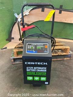 Cen-Tech Automatic Battery Charger with Engine Jump Start